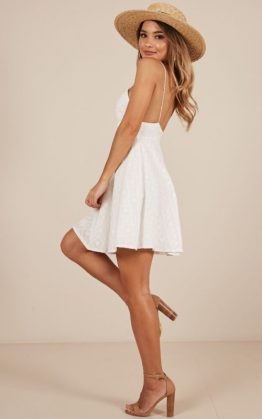 Sunshine Dress in White