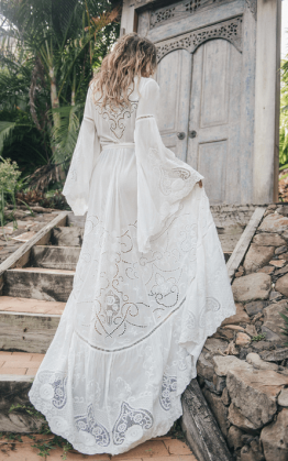 The Gwendolyn Wrap Gown