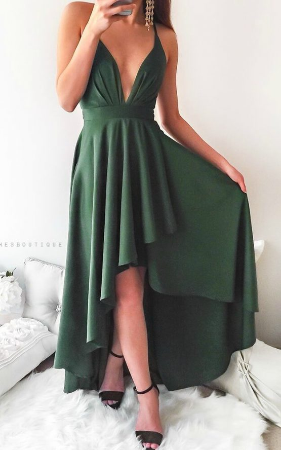 This Love Is Forever Dress in Emerald Green