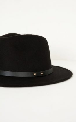 Have You Heard Hat in Black