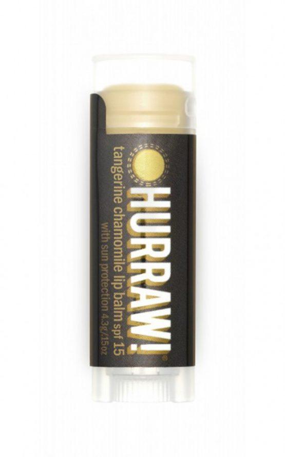 Hurraw - Tangerine Chamomile Lip Balm SPF 15