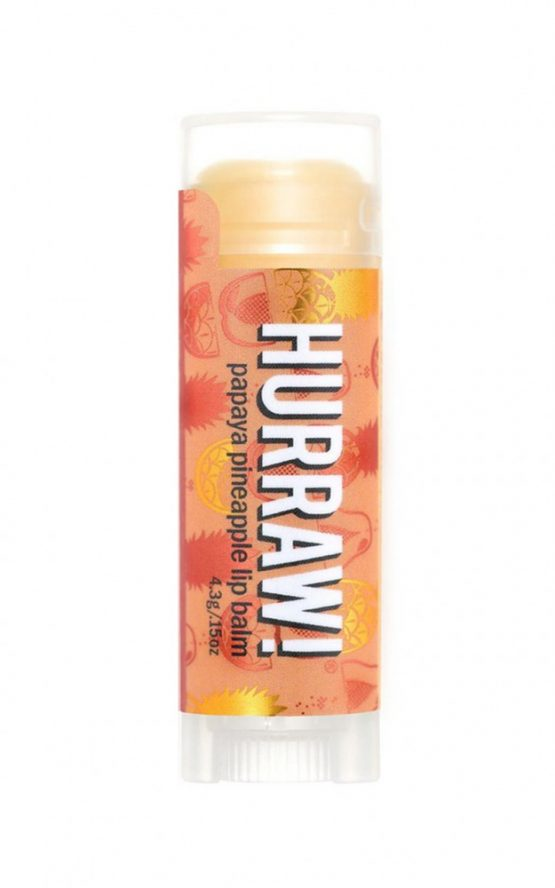 Hurraw - Papaya Pineapple Lip Balm