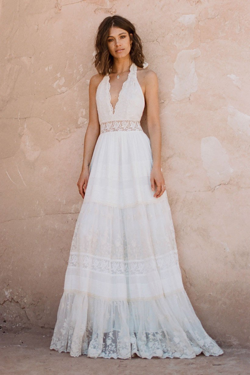 Angelic Halter Gown - All Your Fashion Musthaves