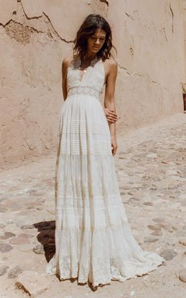 Angelic Halter Gown
