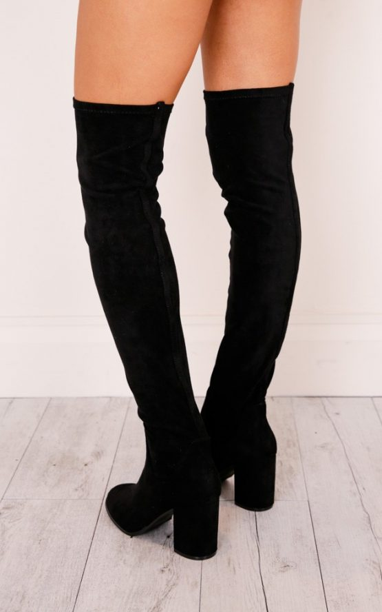 THERAPY SHOES - HANOVER IN BLACK