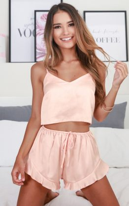 Keeping Secrets Two Piece Set In Blush