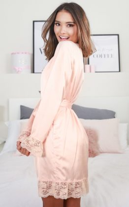 Bad Medicine Robe In Blush