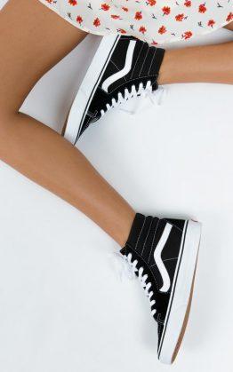 Vans Black SK8-Hi Sneakers