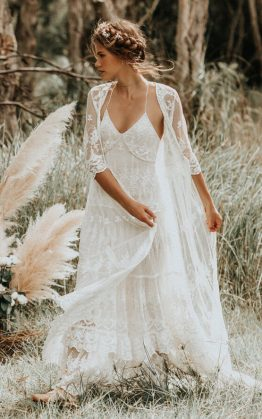 Canyon Moon Mesh Duster & Canyon Moon Mesh Gown