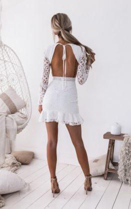 Medina Dress - White
