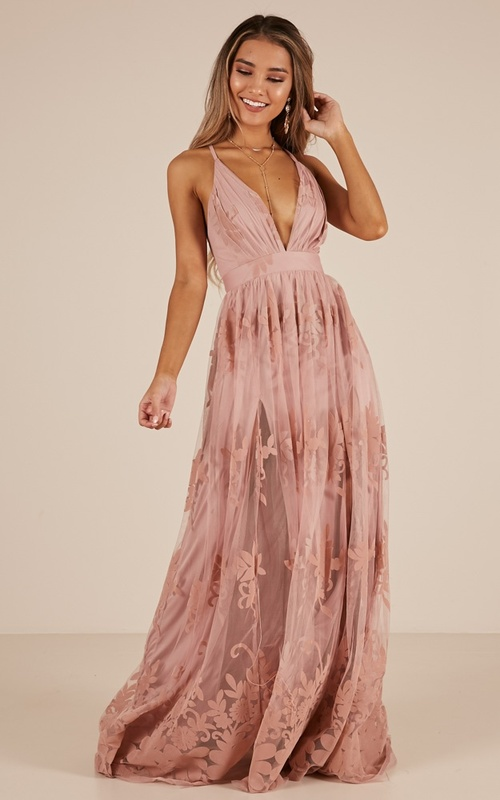 ba50d41d9647 Promenade Maxi Dress In Blush - All Your Fashion Musthaves