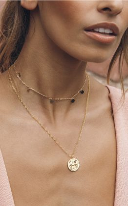 Stay Forever Necklace in Gold
