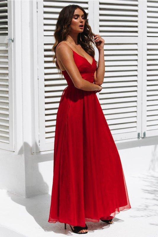 High Stakes Maxi Dress