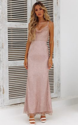 DEAR EMILIA Fame Seeker Maxi Dress