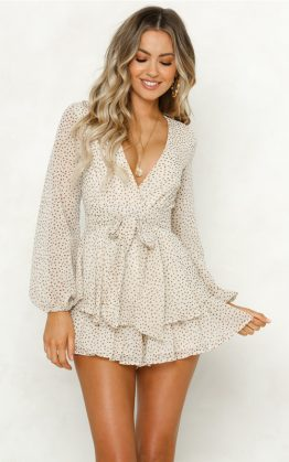 Take Me To Paris Playsuit