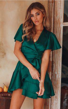 Third Floor Dress in Jade