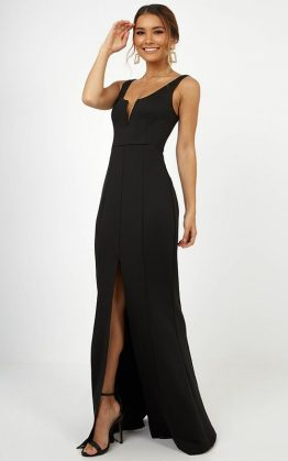 Eye On The Prize Dress In Black