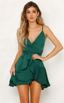 Last Day Dress in Green