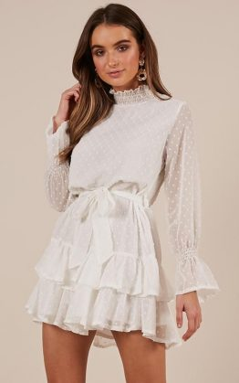 Could You Tell Dress In White