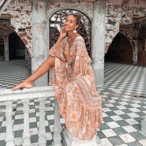 Amethyst Gown in Blush