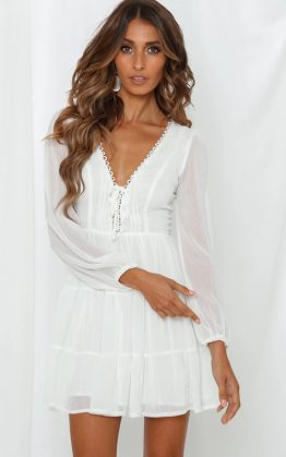 What Might Have Been Dress in White