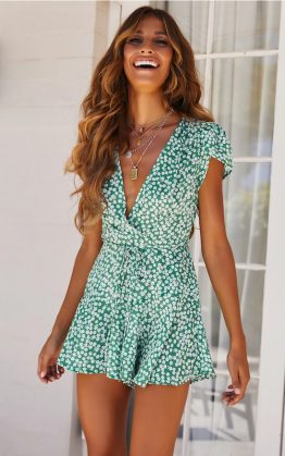 Woman In Love Playsuit