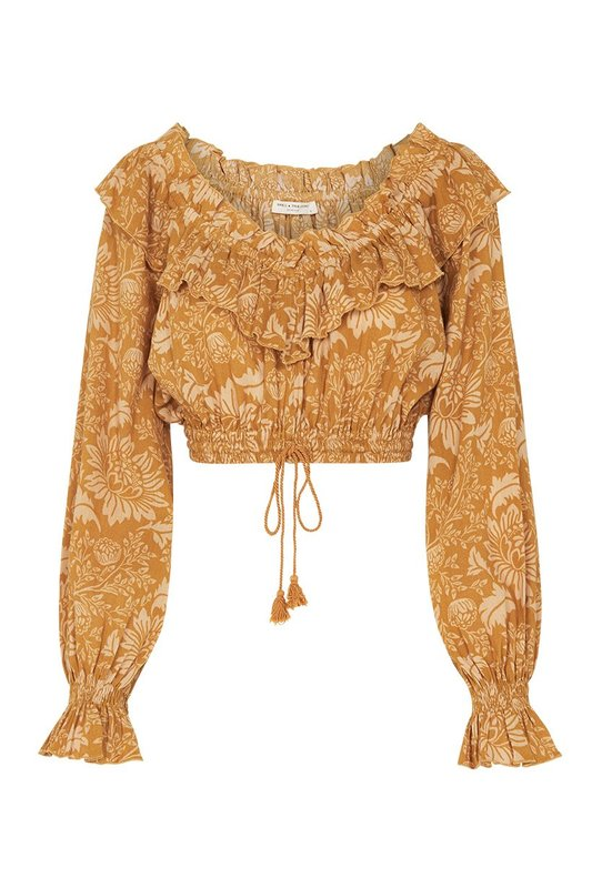 Lioness Peasant Blouse