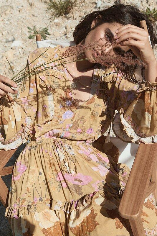 Wild Bloom Long Sleeve Playdress