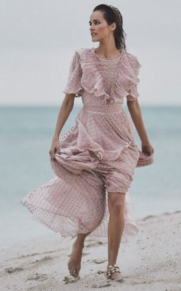 Zoe Gown in Rose