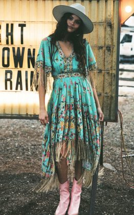 Hendrix Tasseled Dress