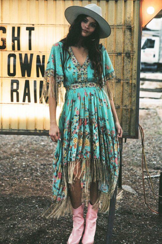 Hendrix Tasseled Dress