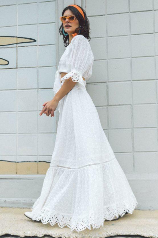 Daisy Chain Maxi Skirt