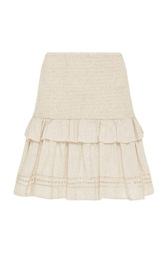 Lola Ruched Mini Skirt