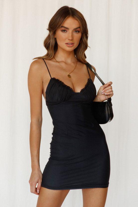Spoken For Dress in Black